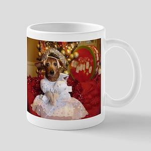 Dachshund Christmas angel Mug