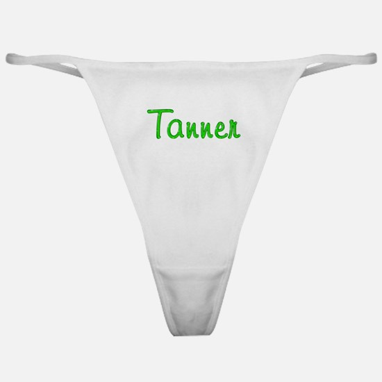 Tanner Glitter Gel Classic Thong