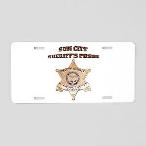 Sun City Sheriffs Posse Aluminum License Plate