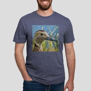 Duck Shower Curtains Mens Tri-blend T-Shirt