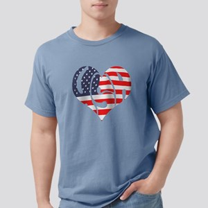 I hart USA Mens Comfort Colors Shirt