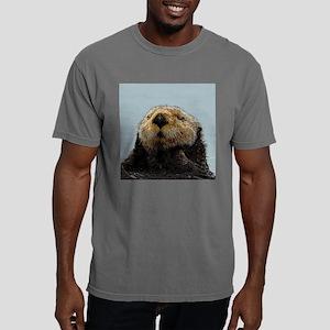 OtterNecklace_1 Mens Comfort Colors Shirt