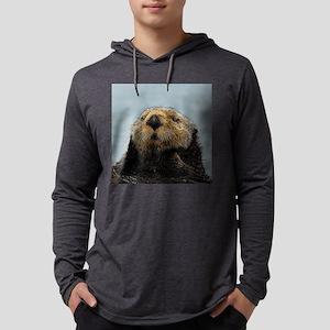 OtterNecklace_1 Mens Hooded Shirt