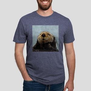 OtterNecklace_1 Mens Tri-blend T-Shirt