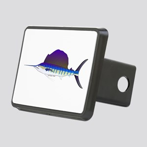 Sailfish fish Rectangular Hitch Cover