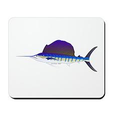 Sailfish fish Mousepad