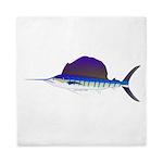 Sailfish fish Queen Duvet