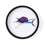 Sailfish fish Wall Clock