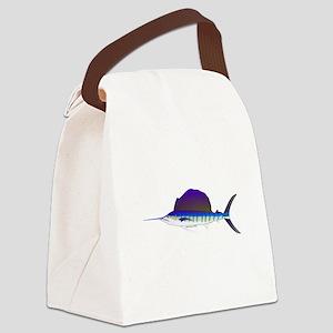 Sailfish fish Canvas Lunch Bag