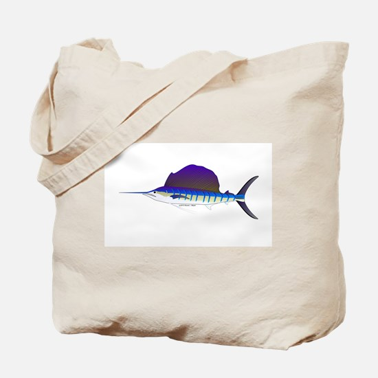 Sailfish fish Tote Bag
