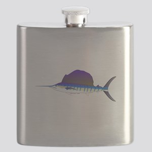 Sailfish fish Flask