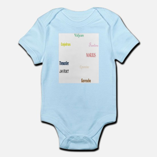 Les Miserables Infant Bodysuit