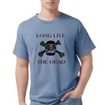 long live dead copy Mens Comfort Colors Shirt