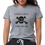 long live dead copy Womens Tri-blend T-Shirt