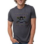 long live dead copy Mens Tri-blend T-Shirt