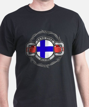 Finland Boxing T-Shirt