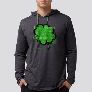 Illegal Leprechauns3 Mens Hooded Shirt