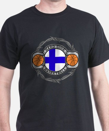 Finland Basketball T-Shirt