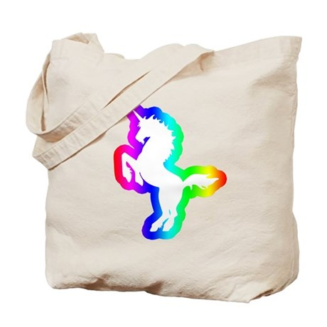 Disco Unicorn Tote Bag