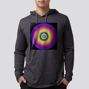 3art100 purple jellyfish digital Mens Hooded Shirt