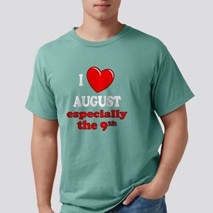 august9W Mens Comfort Colors Shirt