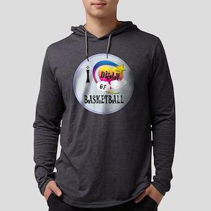 I Dream of Basketball Mens Hooded Shirt