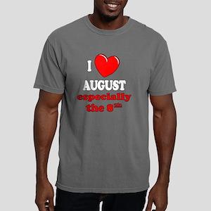 august8W Mens Comfort Colors Shirt