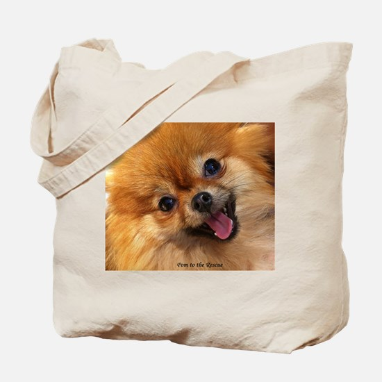 Happy Pomeranian Tote Bag