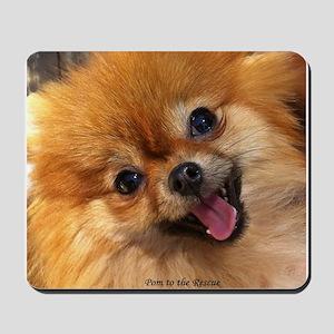 Happy Pomeranian Mousepad
