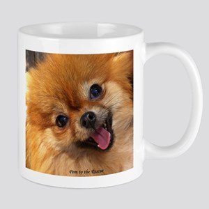 Happy Pomeranian Mug