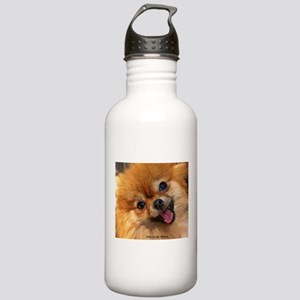 Happy Pomeranian Stainless Water Bottle 1.0L