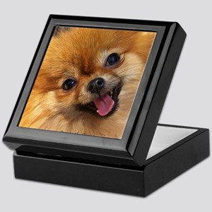 Happy Pomeranian Keepsake Box