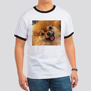 Happy Pomeranian Ringer T
