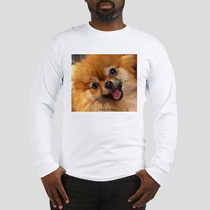 Happy Pomeranian Long Sleeve T-Shirt