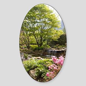 Minter Gardens Sticker (Oval)