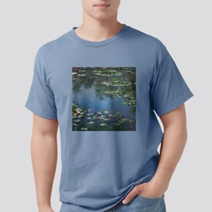 Waterlilies by Claude Mo Mens Comfort Colors Shirt