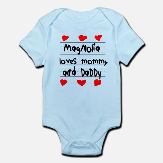 Magnolia Loves Mommy and Daddy Infant Bodysuit