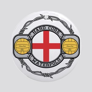 England Water Polo Ornament (Round)