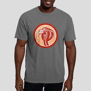 Cobra Viper Snake Head C Mens Comfort Colors Shirt