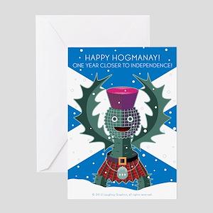 Hogmanay Greeting Card