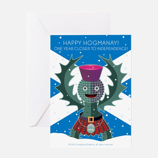 Hogmanay Greeting Card