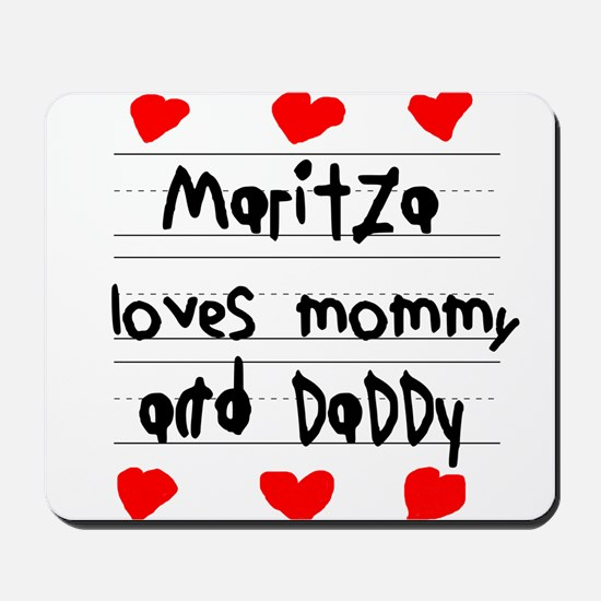 Maritza Loves Mommy and Daddy Mousepad