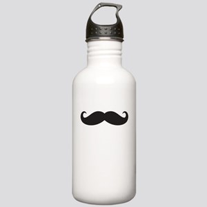 Mustache Stainless Water Bottle 1.0L