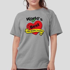Worlds Best 5th. Grade Womens Comfort Colors Shirt