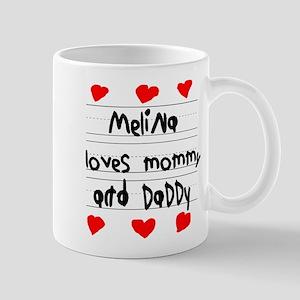 Melina Loves Mommy and Daddy Mug