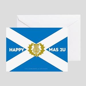 Happy Xmas 2U Greeting Card