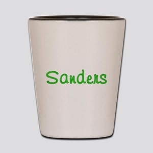 Sanders Glitter Gel Shot Glass