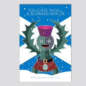 Ghaidhlig.2 Postcards (Package of 8)