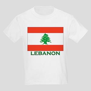 Lebanon Flag Gear Kids T-Shirt