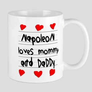 Napoleon Loves Mommy and Daddy Mug